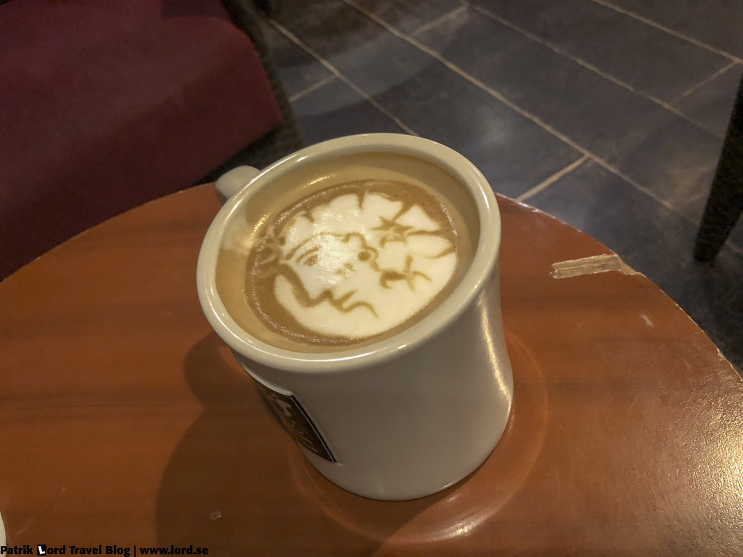 Bo's Coffee, Caffe Latte, Dumaguete, Philippines © Patrik Lord Travel Blog