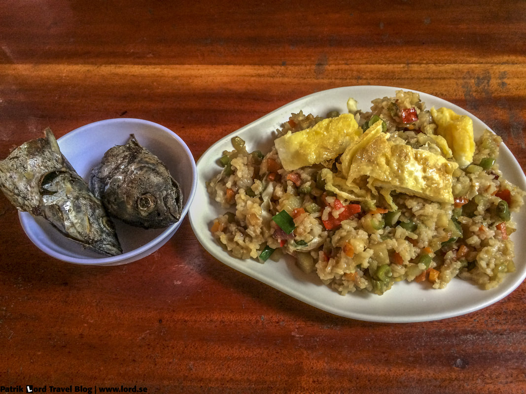 Filipino Breakfast, Fried Rice, Philippines © Patrik Lord Travel Blog