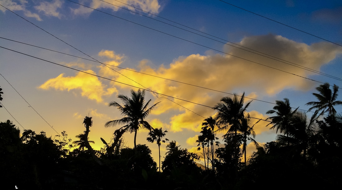 Sunset in the paradise Philippines © Patrik Lord Travel Blog